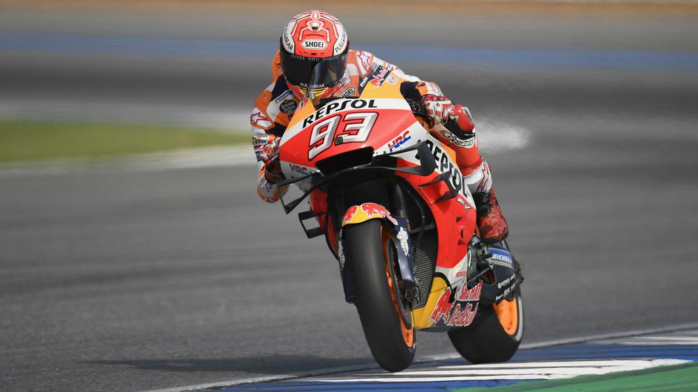 Marc Marquez secured his sixth MotoGP premier class world title with a dramatic victory at the Thailand Grand Prix, as Fabio Quartararo was cruelly denied a maiden race win.