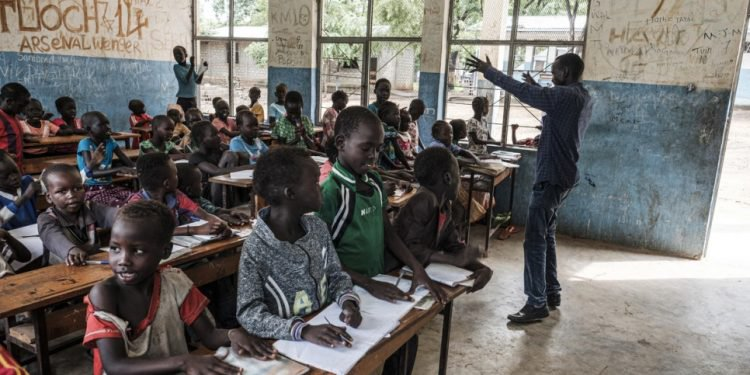 South Sudanese teacher dedicates his life in exile to refugees of all ages