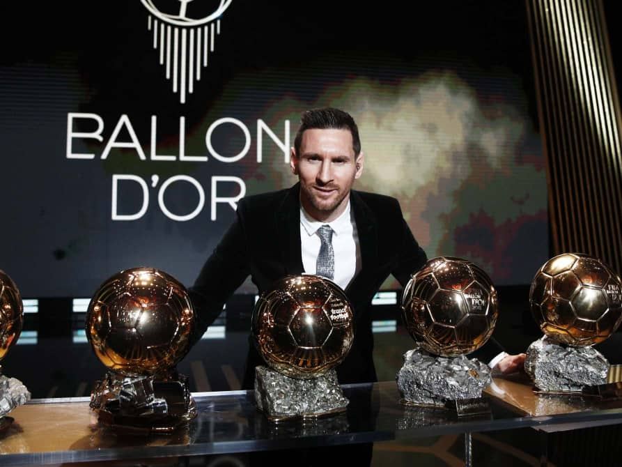 Messi Wins 2019 Ballon D'or Award