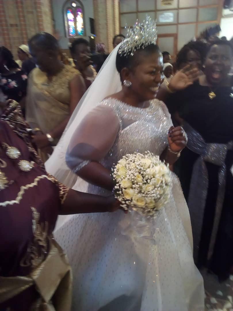 NRM Secretary General Lumumba, Hubby Rekindle Love By Renewing Marital Vows