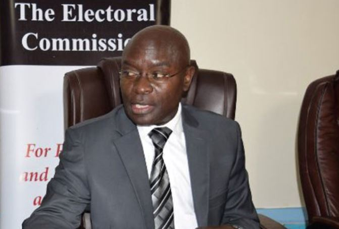 E.C Chairperson Byabakama Finally Announces Presidential Elections Results
