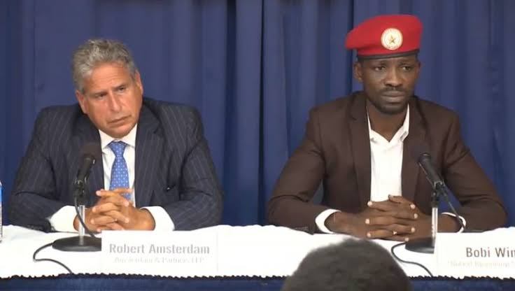 Bobi Wine Lawyer Amsterdam Jetting Into Uganda To Pin Gov't On Blocking Presidential Campaigns, Music Concerts