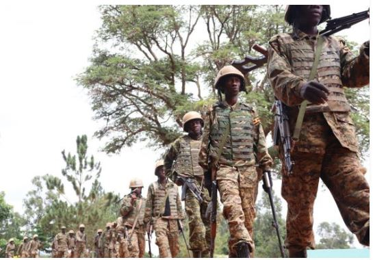 Fear As Coronavirus Invades UPDF Camps, 9 Soldiers Quarantined In Somalia