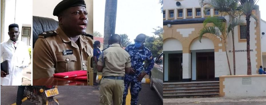 Police On Hot Spot For Raiding Catholic Church Over CCTV Footage Of MUK Student Tegu's Murder By LDU