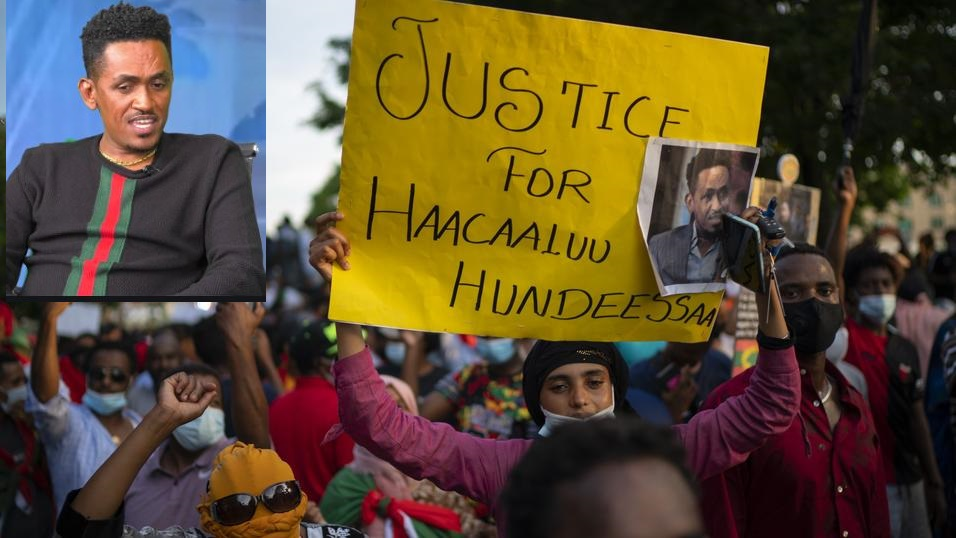 80 Shot Dead After Bloody Protests Break Out At Ethiopian Singer Hundeessaa's Funeral