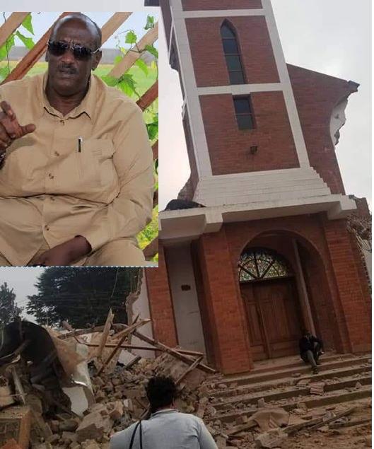 I Wasn't Behind St. Peter's Church Demolition'-Gen. Salim Saleh