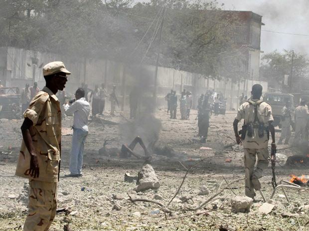 Explosive Terrorist Attack at Somali Hotel