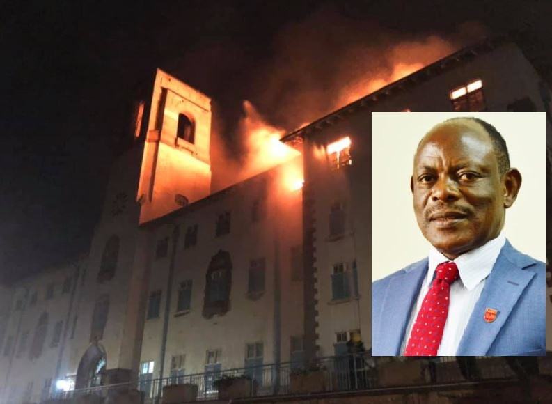 'Gov't To Pump Shs15Bn To Revive Burnt MUK Building'-Prof. Nawangwe