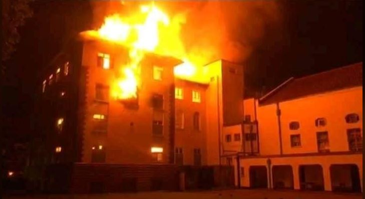 Property Worth Millions Destroyed After MUK Ivory Tower Catches Fire