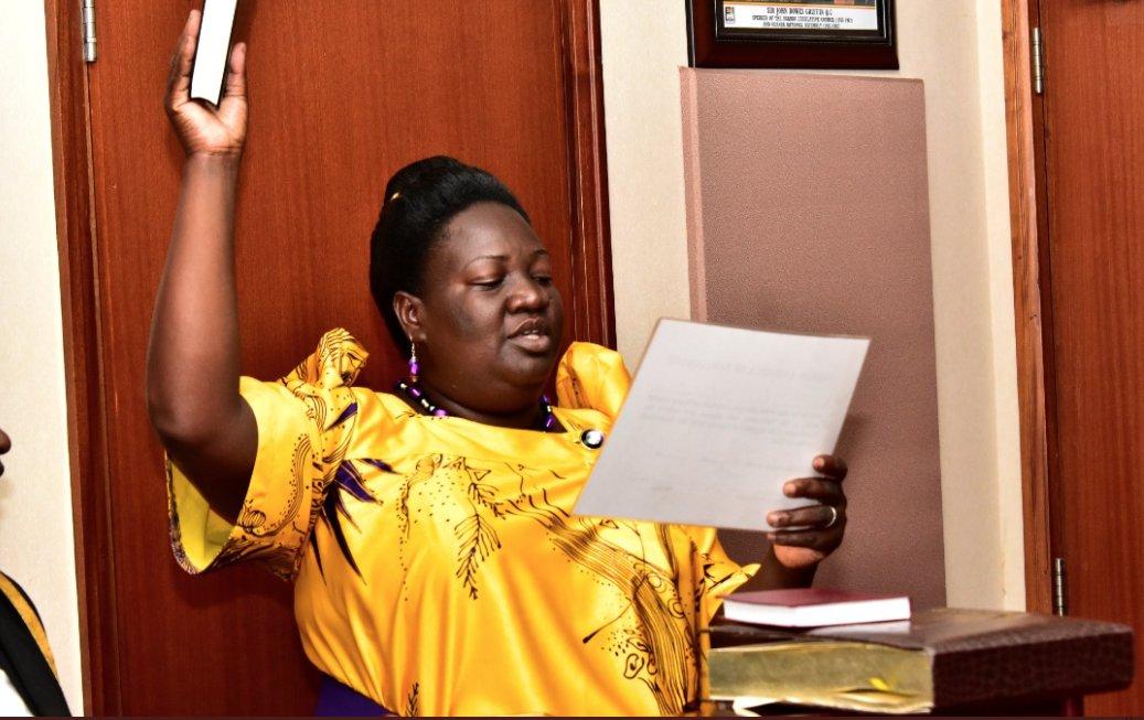 Pallisa woman MP Faith Alupo Dies