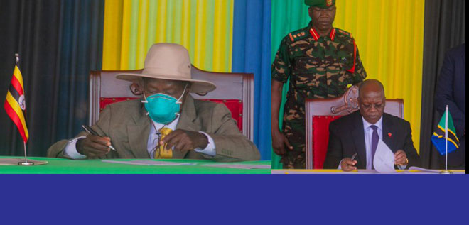 Uganda and Tanzania Sign $3.5bn oil Pipeline Deal