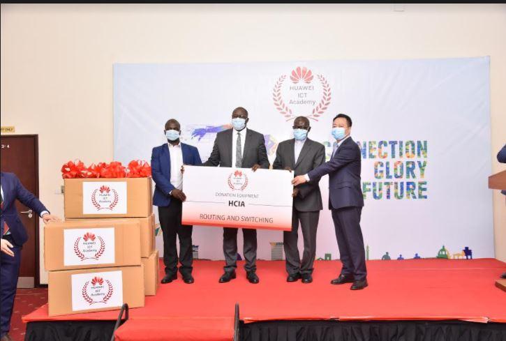 Huawei Donates ICT Study Equipment to Kyambogo and Uganda Martyrs Nkozi University