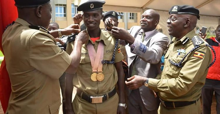 Joshua Cheptegei to be Promoted, a Facility at the Police training centres in Kapchorwa and Kabalye to be renamed.