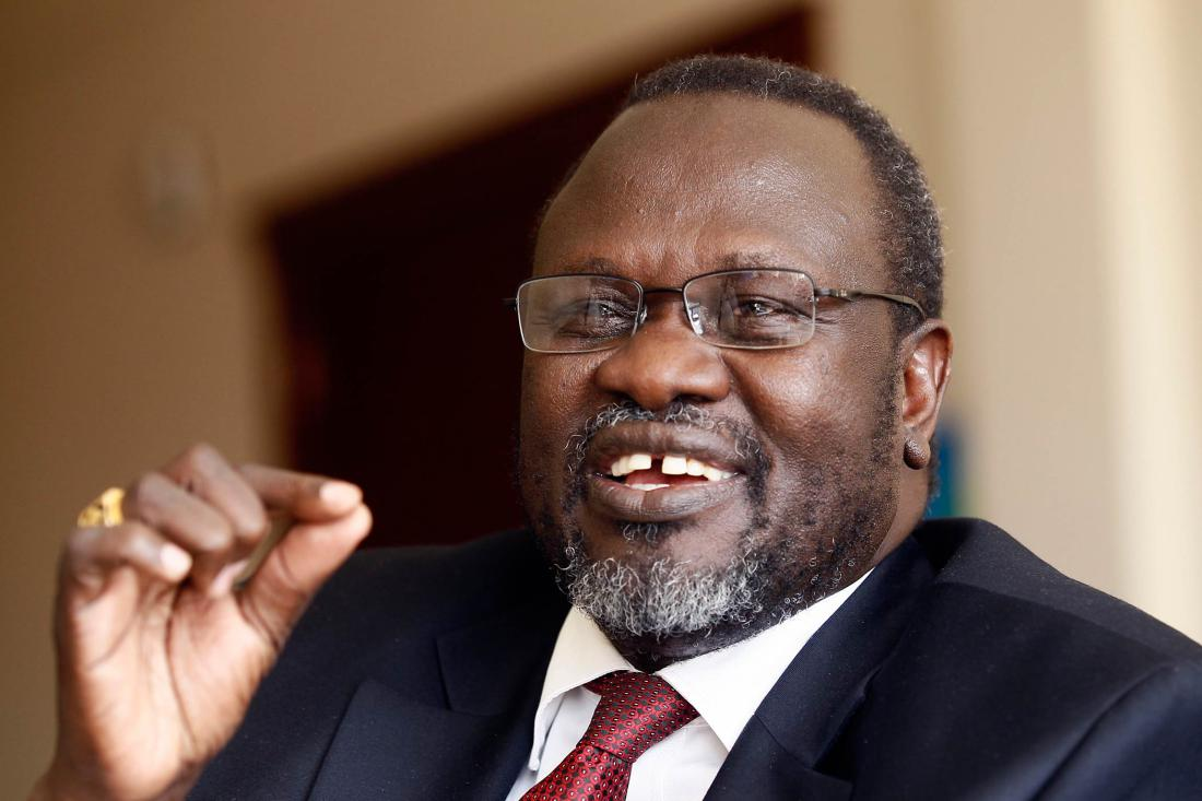 Machar can't go to Church, Tour Juba, He's under House Arrest