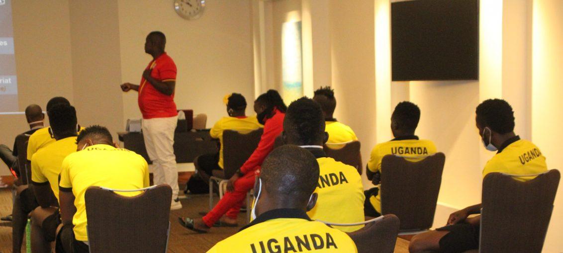 Uganda Cranes ends Dubai Training Camp with class session