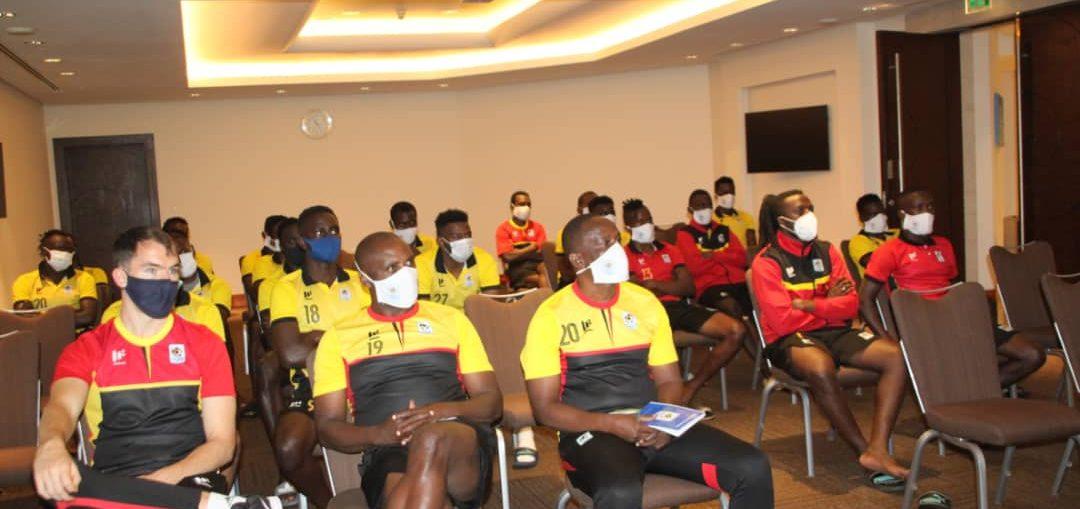Uganda Cranes Kick Start Dubai Training Camp with Class Session