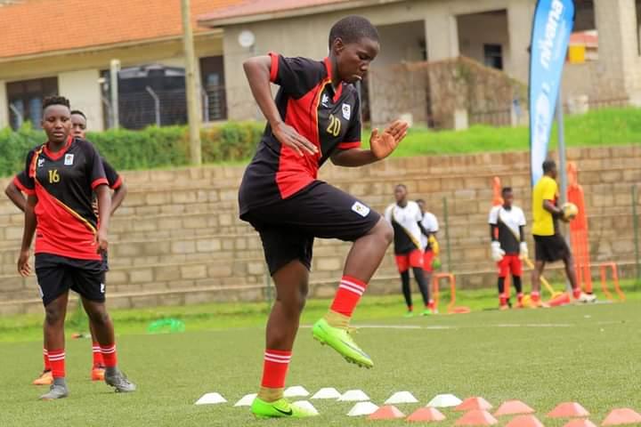Uganda U17 Women's National Team Starts Training