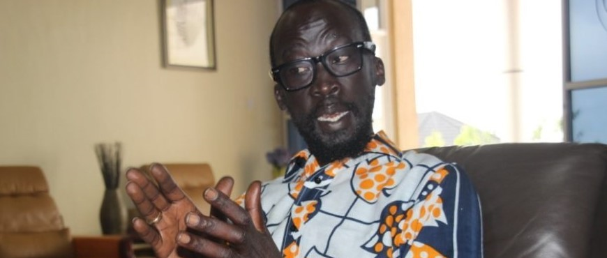 Mabior Garang Resigns from his Position as National Chairperson of Information and Public Relations to protest 'fake' peace