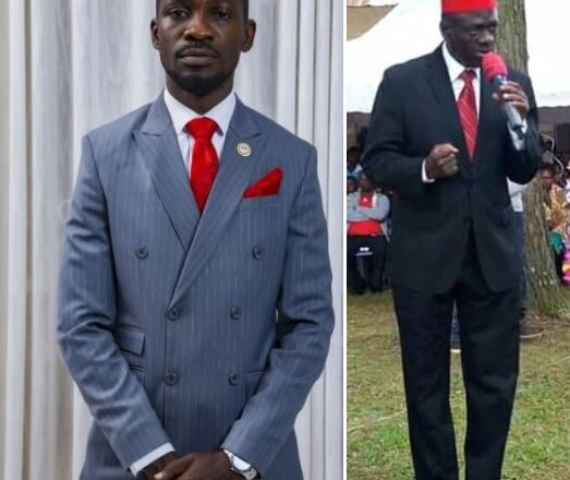 Bobi Wine Hails Dr. Besigye As He Launches Presidential Manifesto