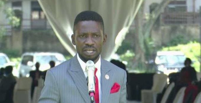 Bobi Wine Demands Repeat Of Presidential Elections