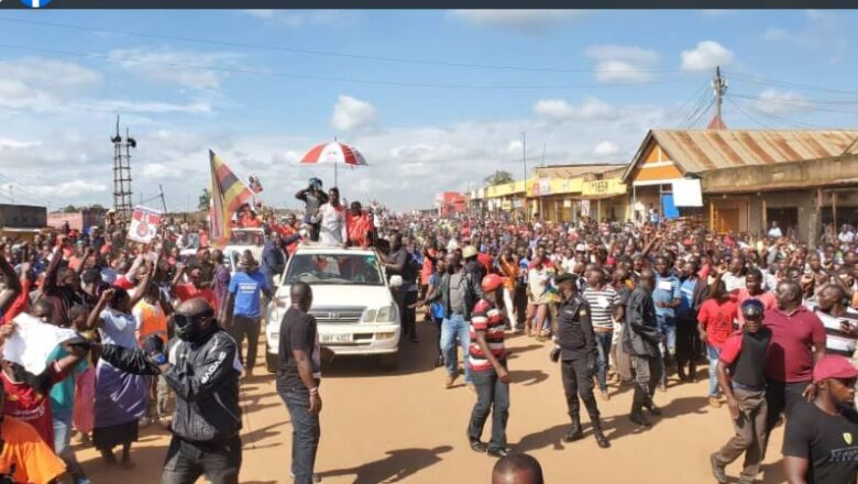 Bobi Wine Shakes Buikwe District As Army Deploys Heavily In Mukono Ahead Of His Rally