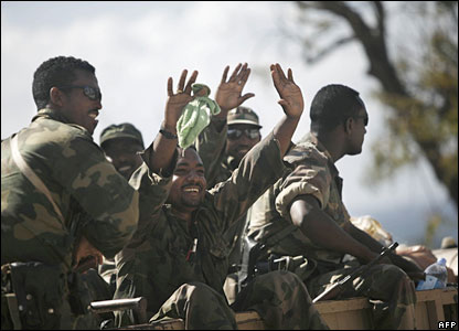 Ethiopia Withdraws Thousands of her Troops from Somalia