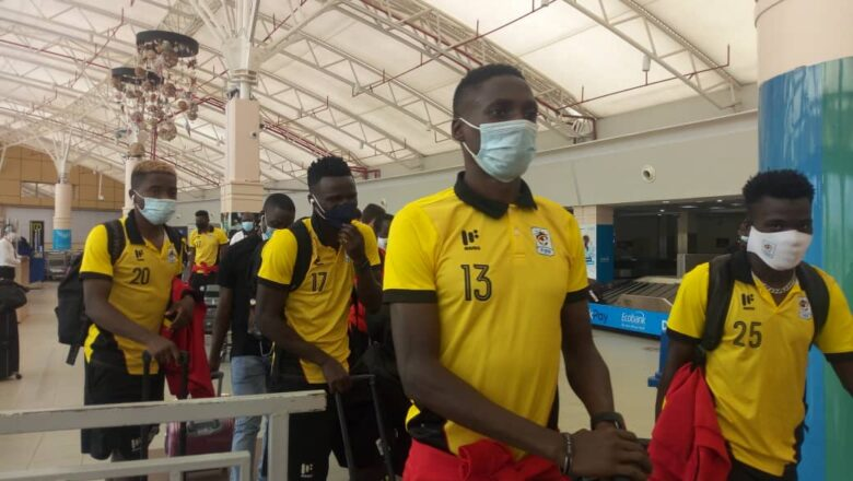 Uganda Cranes Arrives Safely in Nairobi, Set to Play South Sudan.