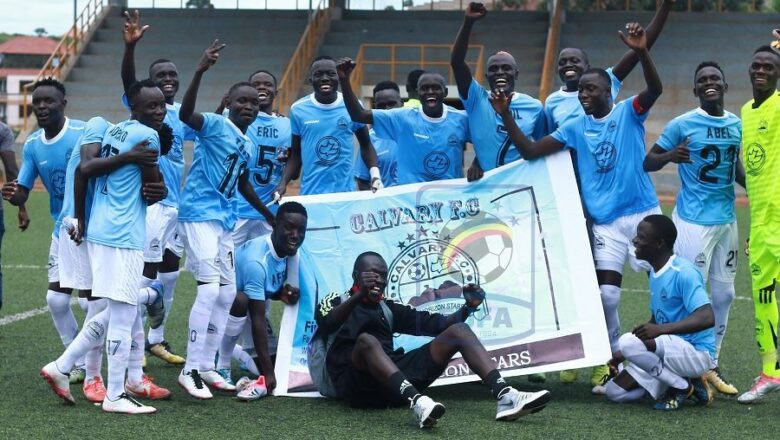 West Nile's Calvary FC Earns Sporting Promotion to The StarTimes FUFA Big League.