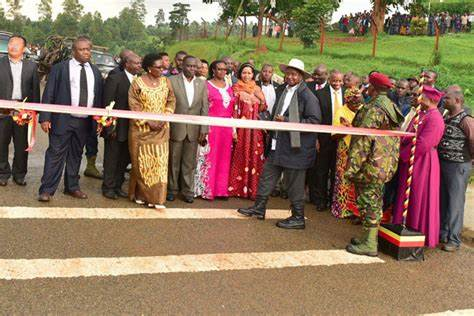 China Constructs a 104 km Road Linking Uganda to Kenya.