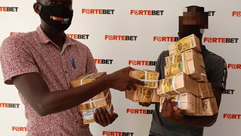 RECORD BREAKER: 1ST UGANDAN SMASHES FORTEBET'S UGX 1BILLION