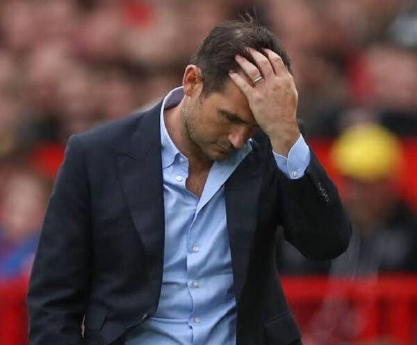 Chelsea's Frank Lampard Sacked.
