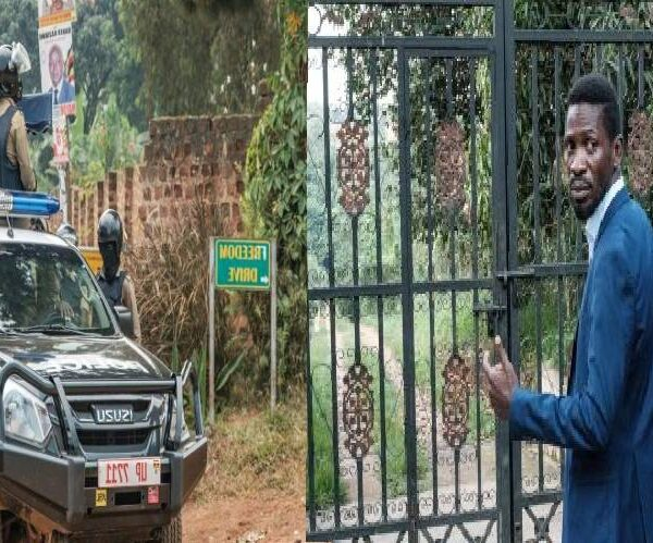 Court Orders Security to Withdraw from Kyagulanyi 's home