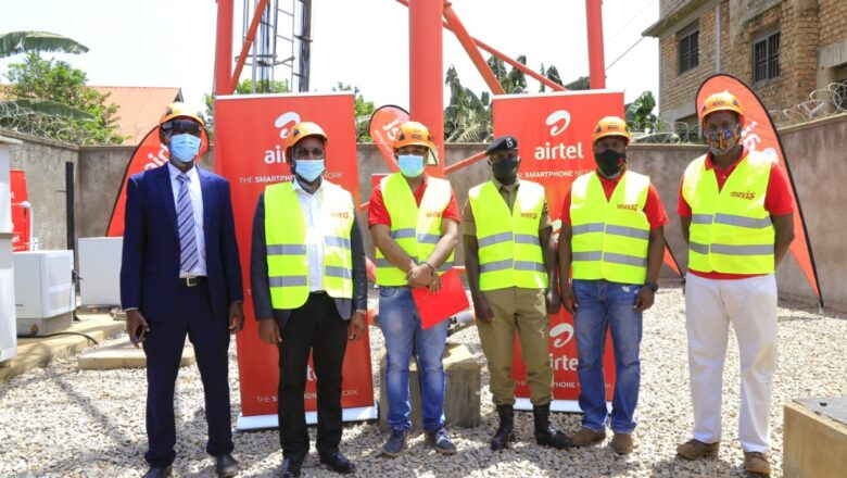 Airtel commissons telcom mast amidst protest from lc one chairman