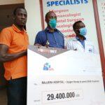 FORTEBET DONATES 29,4M TO NAJJEERA HOSPITAL
