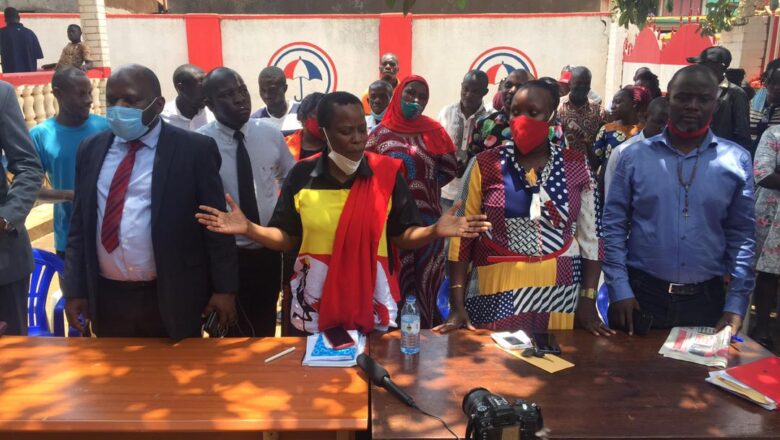 Mukono NUP Councilors Warned against Supporting Other Parties