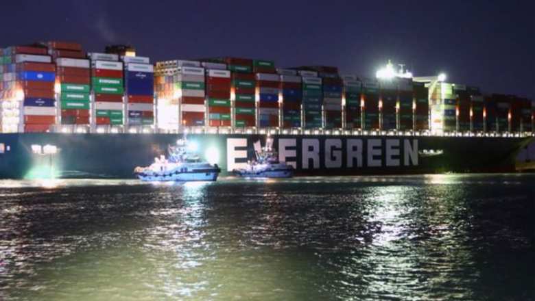 Egypt impounds Evergreen giantship over compensation claim
