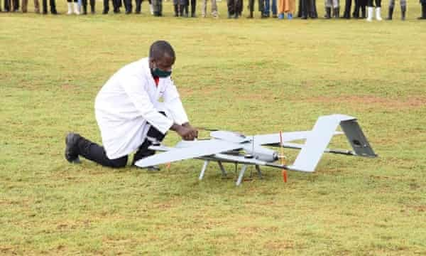 Uganda launches drone technology in supplying HIV drugs to Lake Victoria islands