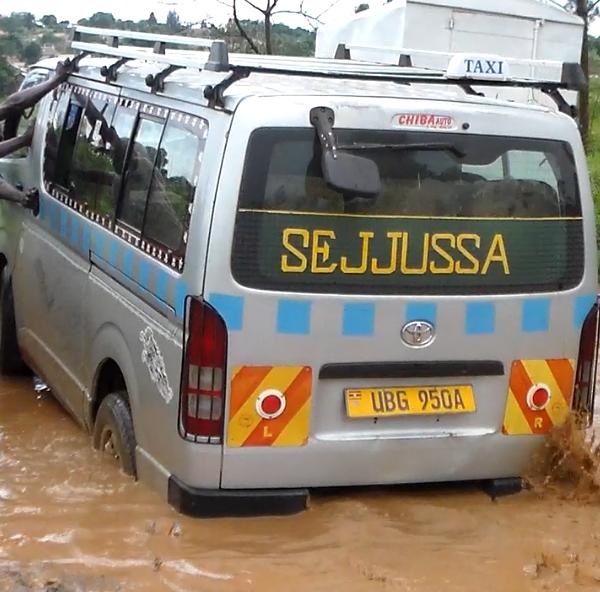 Heavy downpour destroys Mukono roads leaving them impassable