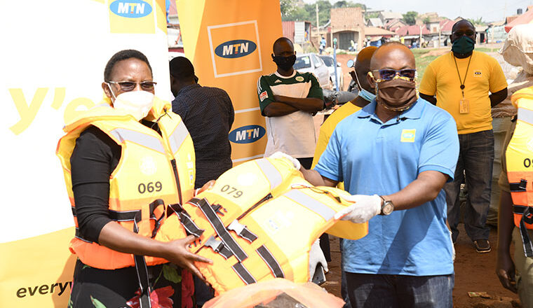 MTN water ambulance saves lives in Kiyindi