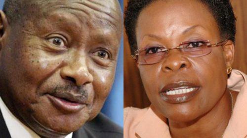 Where is Museveni's heart?