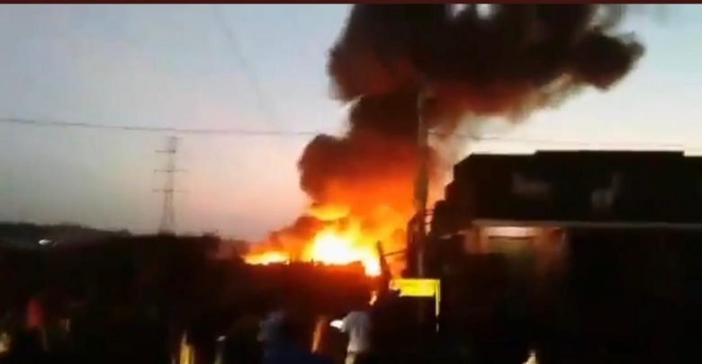 Two dead, Motor Cycles Burnt in Kamwokya Fires