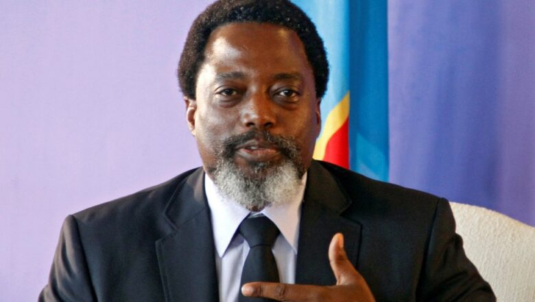 FORMER PRESIDENT OF DRC JOSEPH KABILA TO GRADUATE WITH PHD AT THE UNIVERSITY OF JOHANNESBURG, SOUTH AFRICA.