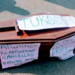 Dumped Coffin in Protest Against Dr Atwiine takes new twist
