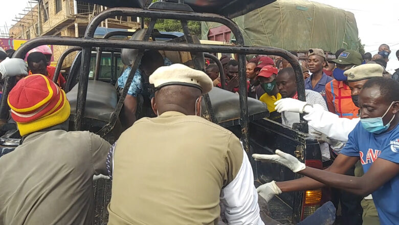TWO dead IN NASTY ACCIDENT IN MUKONO TOWN.
