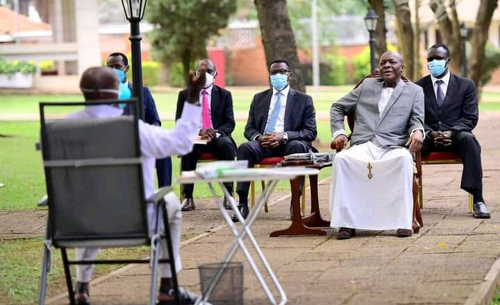 Kabaka, Museveni secret meet emerge.