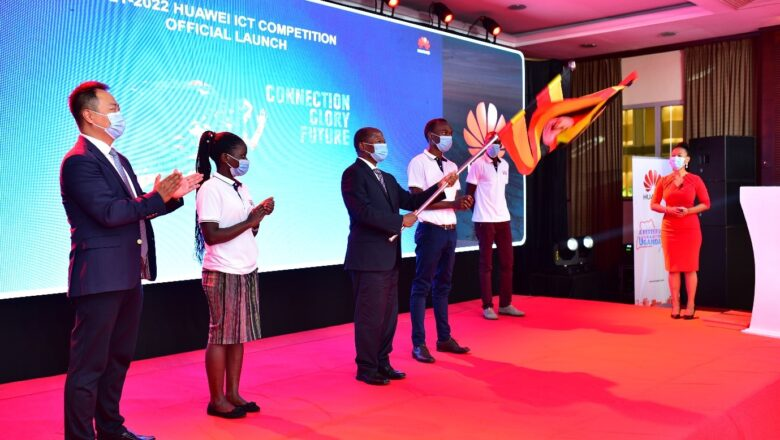Minister Muyingo launches 3rd edition of Huawei ICT Competition.