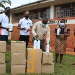 FORTEBET DONATES TO JINJA,HOSPITAL ITEMS WORTH 10M