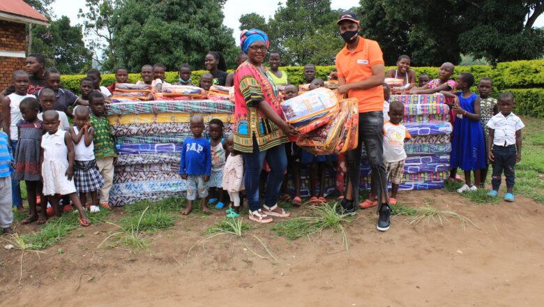 FORTEBET DONATES MATTRESSES, BLANKETS, FOOD TO HOIMA ORPHANS
